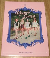 NINE MUSES A 9MUSES A 1ST SINGLE MUSES DIARY CD + PHOTOCARD + FOLDED POSTER