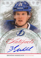 2012-13 Upper Deck Artifacts Brendan Mikkelson TB Lightning Autograph Auto Card