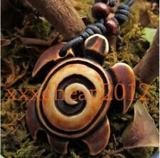 Cool Hawaiian Surfing Turtle Pendant Necklace RH019