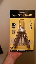 wave leatherman multi tool,knife,new in package,includes premium leather sheath