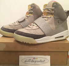 (utilizzato) Nike Air Yeezy 1 uno ZEN GRIGIO US8 UK7 TAN 366164-002 by Kanye West 2009