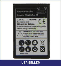 HTC Legend G6 Spare Lithium-ion Replacement Li-ion Rechargeable Battery 1500 mAh