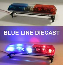 1/18 Flashing LED Police Low Profile Lightbar GEN I #06