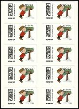 US CVP93 Charlie Brown Christmas Vended ATM forever sheet MNH 2015
