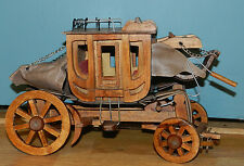 FABULOUS VINTAGE/ANTIQUE HAND CRAFTED WOOD STAGE COACH!! WAGON