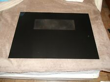 CALORIC  OVEN DOOR GLASS BLACK part # 63650  19 5/8 x 28 5/16 inches