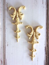 FURNITURE APPLIQUES ONLAYS RESIN & WOOD MOULDINGS * FLEXIBLE PAINTABLE STAINABLE