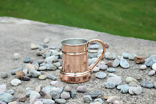 Totally Hammered Handmade Copper Beer Mug Tankard Cup Moscow Mule  500 ml 16.9oz