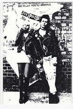 SEX PISTOLS carte postale  Sid VICIOUS Sid and Nancy
