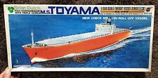 SCAN DUTCH MS FULL CONTAINER SHIP TOYAMA 1/550 MODEL KIT NITTO JAPAN SHIP
