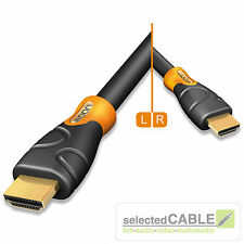 HICON Ergonomic 5m HDMI 1.4 High Speed Kabel with Ethernet 5,00m | HIE-HDHD-0500