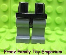 New LEGO Minifig Legs Dark Bluish Gray Black Hips Star Wars Castle Body Part