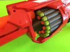 Nerf Rotofury Shotgun 30 shots  3 Fire-At-Once Cylinder MOD  custom 3D Printed