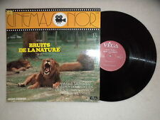 "LP CINEMASONOR ""Bruits De La Nature N° 3 : Animaux Sauvages"" VEGA 19.031 FR §"