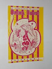 Jersey Opera House Programme 1960's By Permission Of The Bailiffs 8.30 Revue.