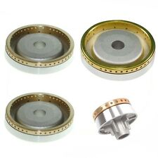 4 Piece DIPLOMAT Oven Cooker Hob Burner Ring Kit Brass Crown Body Gas Flame Set