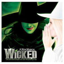 A4 Wicked Broadway Musical Theatre Poster Edible Icing Sheet Cake Topper