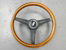 Mazda MX5 MK1 V-Special Nardi Wooden Steering Wheel with Boss 360mm
