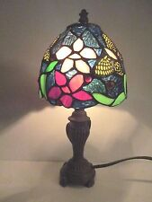 """Vintage Thomas Paconni Classic Tiffany Style 12"""" Table Lamp"""