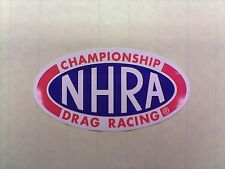 "NHRA Championship Drag Racing 6-1/4"" decal/sticker--perfect for your drag car"