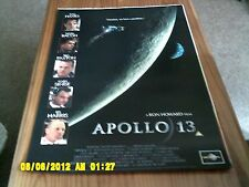 Apollo 13 (Tom Hanks, Kevin Bacon, Gary Sinise,, Bill Paxton) Movie Poster A2