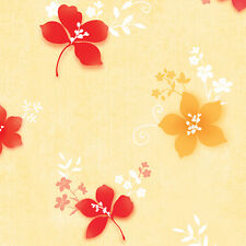 Contact Paper Floral Wind Vinyl Wallpaper Pattern Removable Self Adhesive Rolls