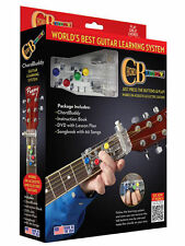 ChordBuddy Guitar Learning System Including Book / Dvd & Chord Buddy NEW!