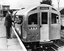 1957  Silver Trains London underground to Hounslow 8 x 10 Photograph
