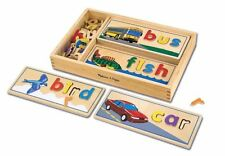 Melissa and Doug See and Spell , New, Free Shipping