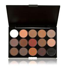 15 Colors Women Cosmetic Makeup Neutral Nudes Warm Eyeshadow Palette Free Ship
