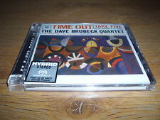 THE DAVE BRUBECK QUARTET Time Out Hybrid SACD Audiophile CD Factory Sealed
