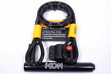 IKON U7700 Bicycle U-Lock 4.5in X 9in with Cable 5in X 10mm