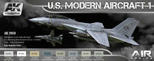 AK Interactive AKI 2050 - Air Series: US Modern Aircraft 1 Paint Set