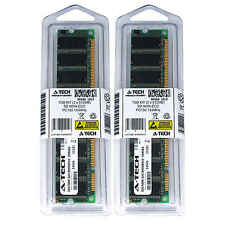 1GB 2 x 512MB SD Desktop Modules 133 SDRam 133 168 pin 168-pin SD Memory Ram Lot