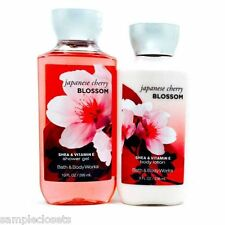 Bath & Body Works japanese cherry blossom shower gel & body lotion. New.