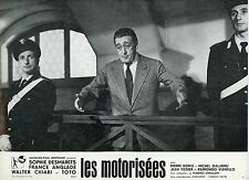 TOTO LE MOTORIZZATE LES MOTORISEES 1963 VINTAGE PHOTO LOBBY CARD N°6