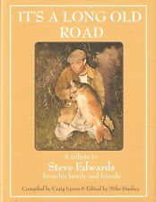 EDWARDS STEVE FISHING BOOK ITS A LONG OLD ROAD CARP hardback LIMITING new