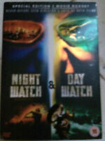 NIGHT WATCH / DAY WATCH ~  Russian Vampire Werewolf Horror Double Bill  | UK DVD