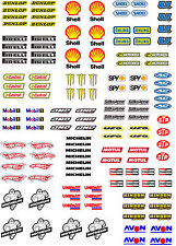 WaterSlide Decal Transfers 1:32 Scale Model Car Waterslide Motorsport Sticker A5