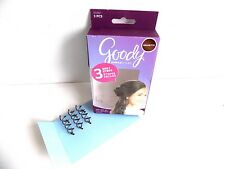 3 Spin Pins Brunette Goody Simple Styles