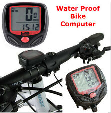 Road Bike Computer Commuter Cycle Mountain Bicycle Odometer Speedometer Computer