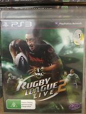 NRL rugby league live 2 PS3