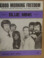 song sheet GOOD MORNING FREEDOM Blue Mink 1970