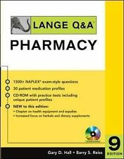 Lange Q&A: Pharmacy, Ninth Edition (Lange Q&A Allied Health), Reiss, Barry S., H