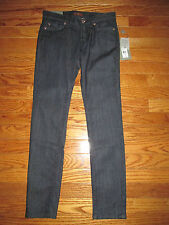 New 7 For All Mankind Girls Size 12 The Skinny Second Skin Legging Denim Jeans