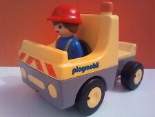 sympa voiture chantier 123   playmobil ( ville , maison , travaux   ) 0734