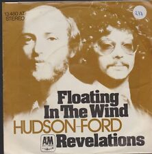 """7"""" Hudson Ford Floating In The Wind / Revelations 70`s A&M"""