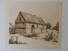 Print Chapel of St Mary Magdalene Sturbridge Tennyson G