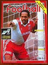 FRANCE FOOTBALL 14/04/1992; UEFA - L'Allemagne/ Rennes/ Monaco/ Bordeaux