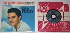 ELVIS PRESLEY. HIS LATEST FLAME. CD SINGLE
